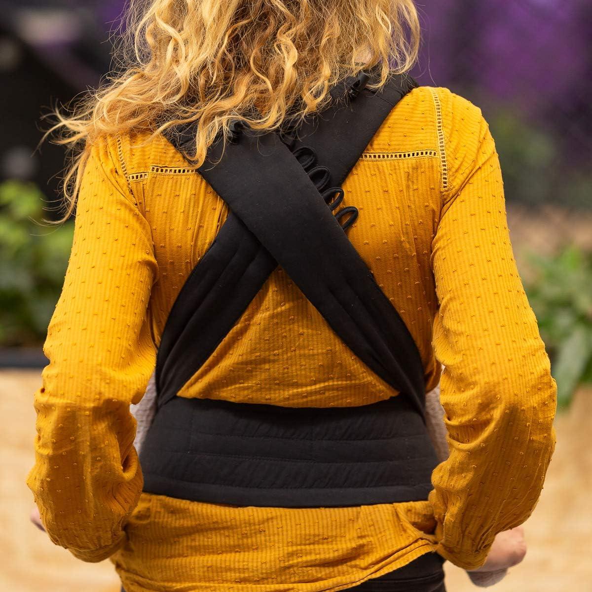noir Guide de nouage Bondolino Plus One Size porte-b/éb/é confort  incl