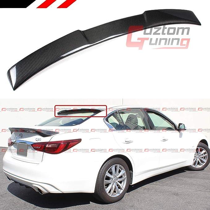 SPKdepot 380R Rear Roof Window Spoiler Wing Fits: Infiniti Q50 2014-on
