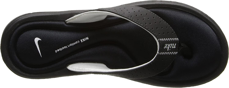 juego Especial calcular  Amazon.com | Nike Women's NIKE COMFORT THONG WMNS SANDAL 5 (BLACK/WHITE) |  Flip-Flops
