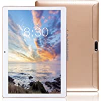 LNMBBS Tablette Tactile 10 Pouce, 2 Go de RAM, Disque Dur 32 Go (3G, WiFi,Android 7.0, OTG, GPS Support) Or