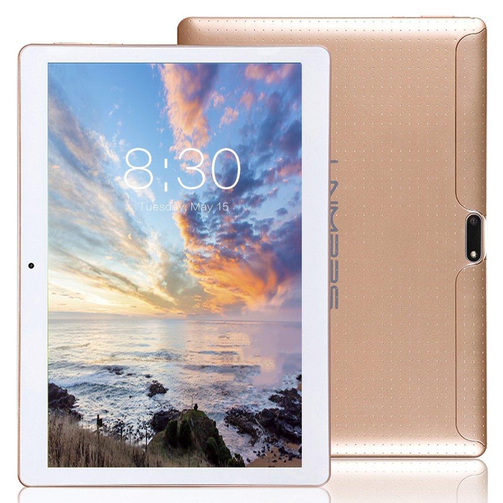 LNMBBS Tablette Tactile 10 Pouce, 2 Go de RAM, Disque Dur 32 Go (3G, WiFi,Android 7.0, OTG, GPS Support) Noir K-107