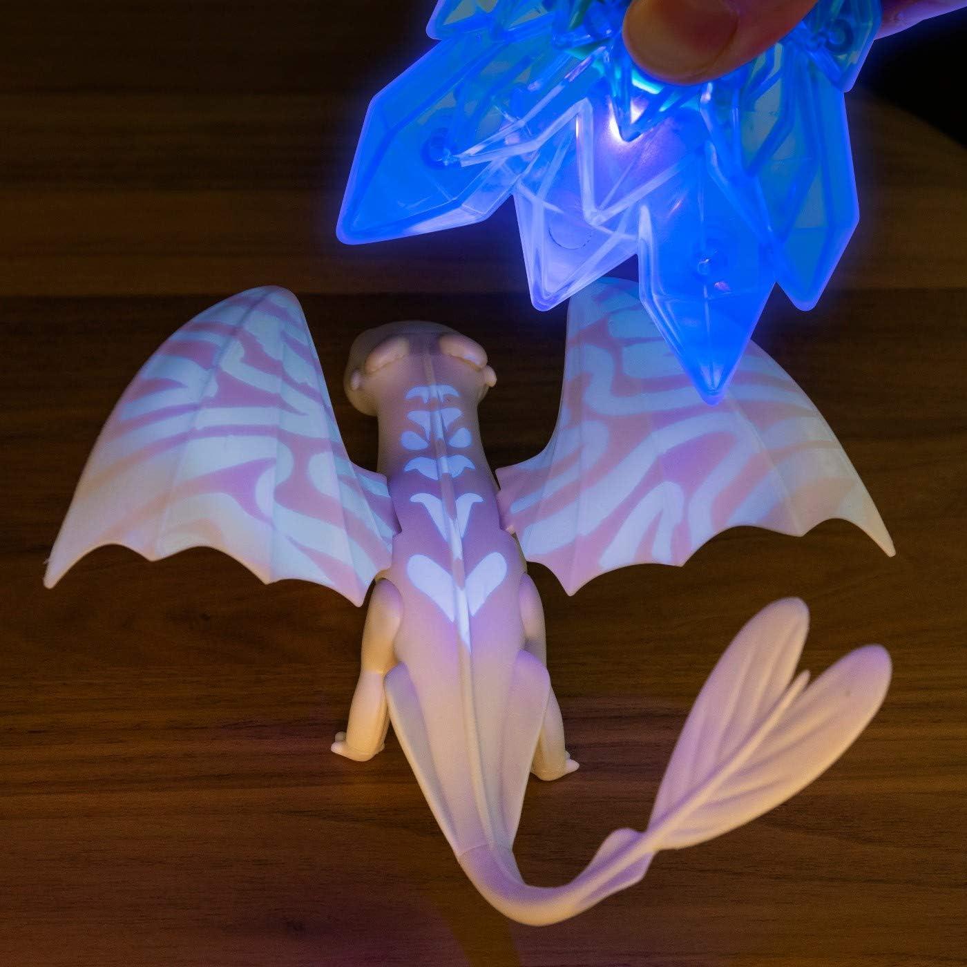DREAMWORKS HOW TO TRAIN YOUR  DRAGON HIDDEN WORLD BIOLUMINESCENT LIGHTFURY