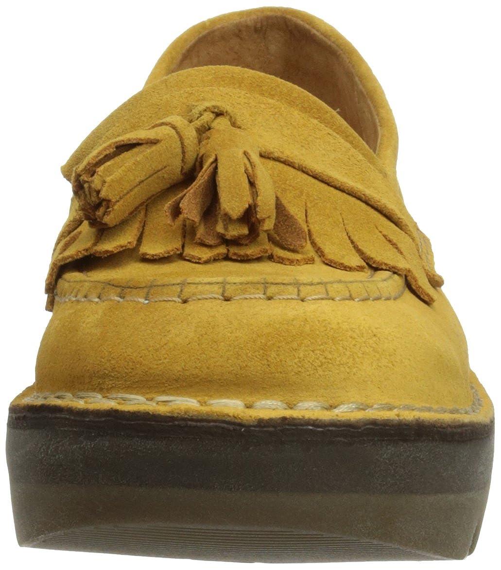 Fly London Mocasines Juno Mostaza EU 40 (UK 7): Fly London: Amazon.es: Zapatos y complementos