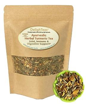DelighTeas Herbal Turmeric Tea