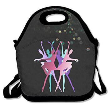 a0c0b82ae9a5 Amazon.com - BakeOnion Dancer's Beauty Lunch Tote Bag Lunch Box ...