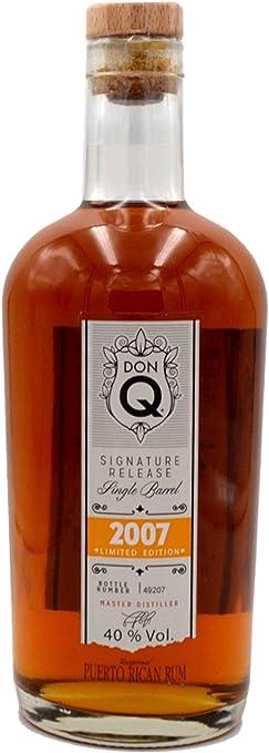 Don Q Limited Edition 2007 Signature Release Single Barrel Rum - 700 ml