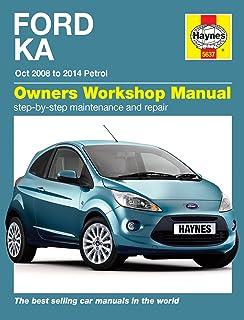 Haynes Workshop Manual For Ford Ka Petrol