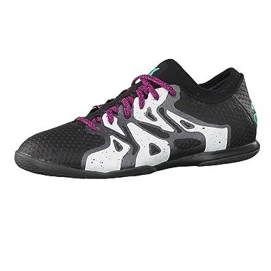 adidas X 15 Primeknit Court Mens Football Boots Soccer Shoes (US 10, Black