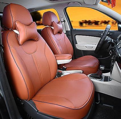 AutoDecorun Automotive Exact Fit Seat Covers For Kia Sorento Carens Borrego Carnival VQ PU Leather Car