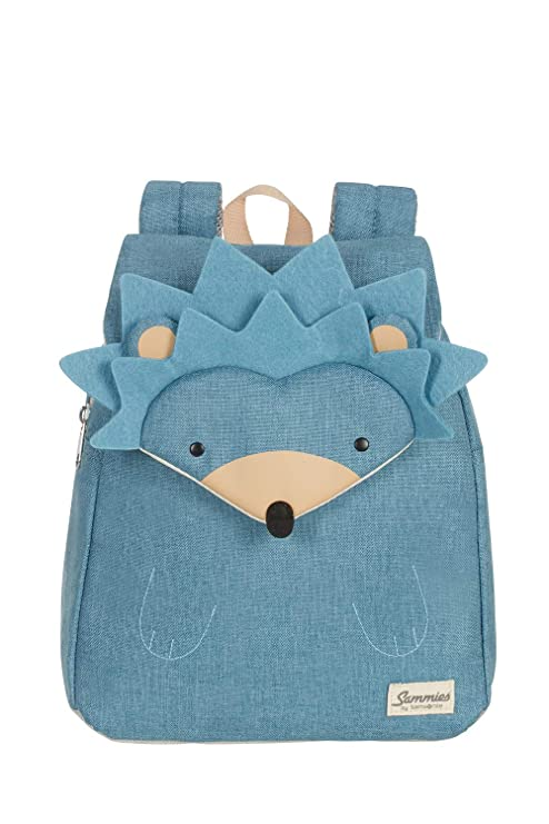 Samsonite Mochila Infantil, Hedgehog Harris (Azul) - 120322-7734-CD0