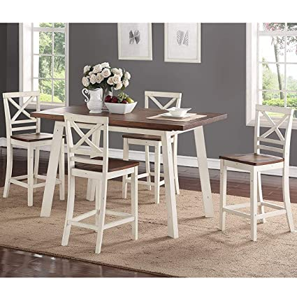 Amazon.com - Standard Furniture Amelia Counter Height Dining ...