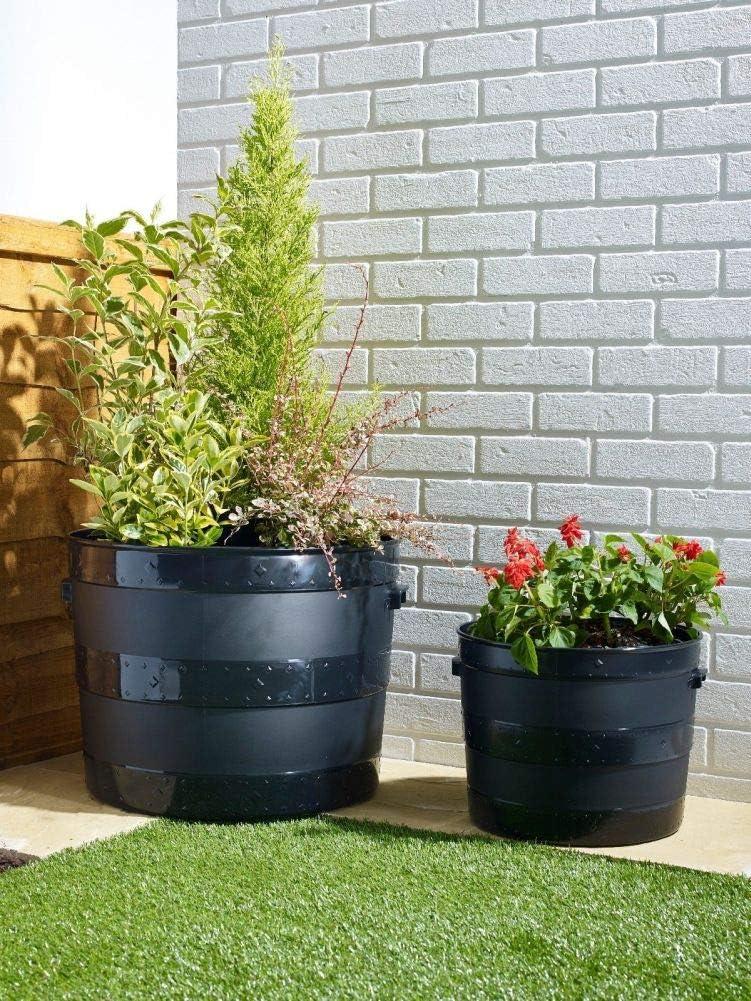 Maceta Resistente para jardín, 50 cm y 35 cm