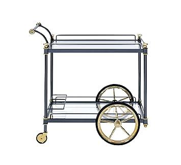 Amazon.com: Major-Q - Carrito de servir de vino con ruedas ...