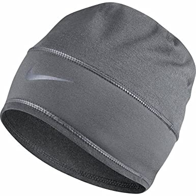 c42c0e14bb2264 Amazon.com: Nike Unisex Running Skully Training Beanie,Cool Grey,One ...