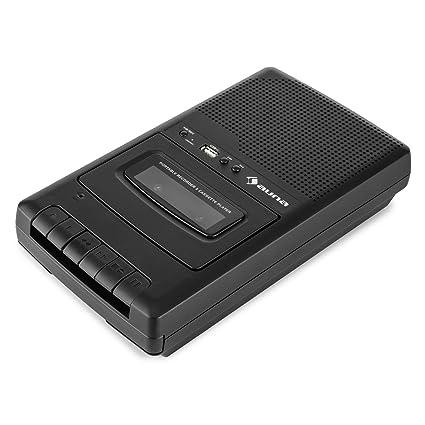 auna RQ-132USB • Grabadora de casete portátil • Puerto USB • Altavoz integrado •