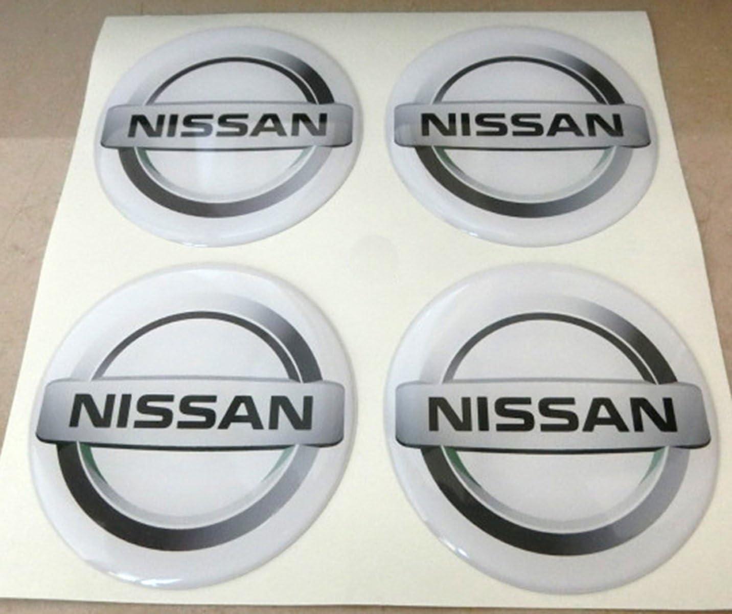 Couleurs 50/mm tuning effet 3d 3/m r/ésine caches roues enjoliveurs Caps autocollants stickers pour jantes en alliage x 4/pi/èces