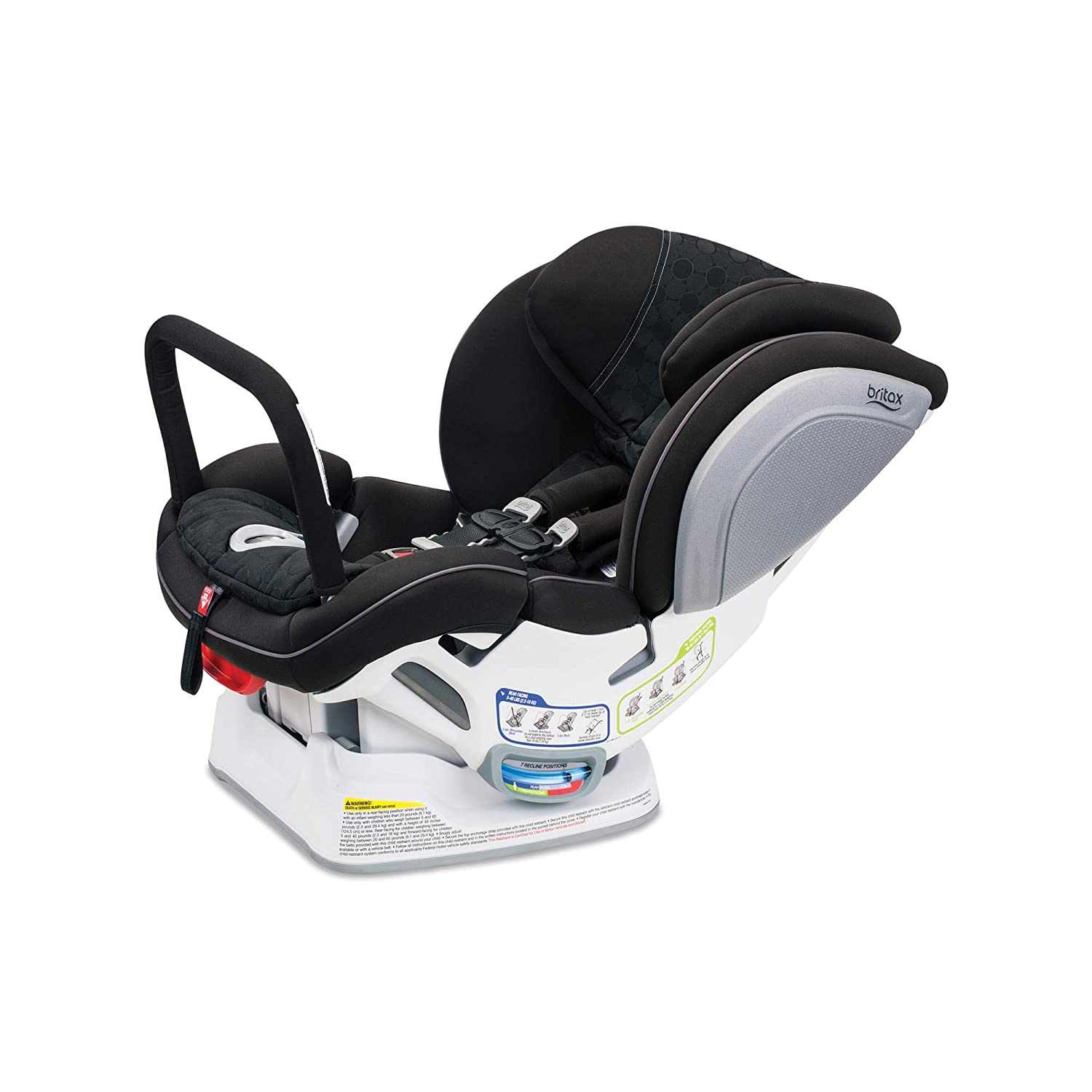 Britax Advocate ClickTight Anti-Rebound Bar Convertible Car Seat, Circa