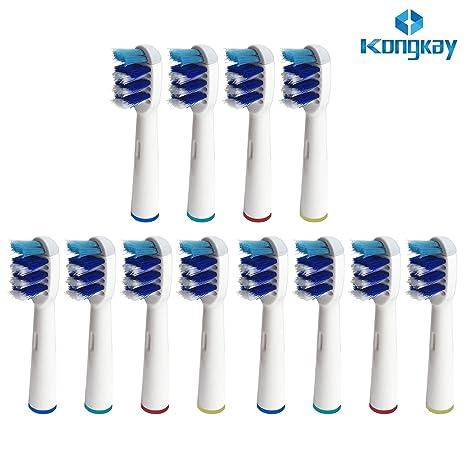 KongKay® 12 PCS EB-30A/SB30A la cabeza de cepillo de dientes reemplazadas