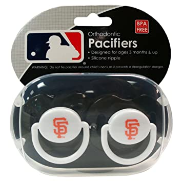 Amazon.com: Bebé Fanatic Chupete, San Francisco Giants: Baby
