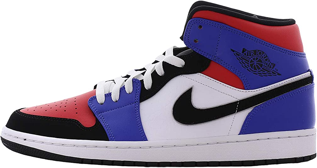 Flotar lecho pobre  Nike AIR Jordan 1 MID 'TOP 3' - 554724-124 - Size 13: Amazon.ca: Shoes &  Handbags