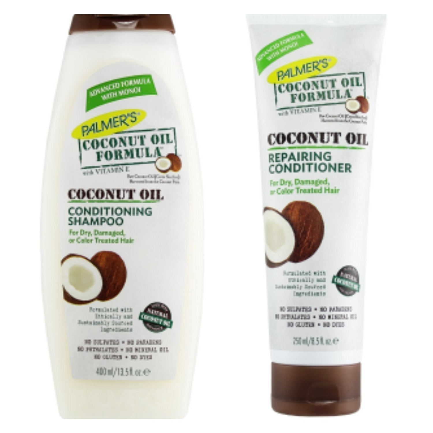Conditioning with coconut oil