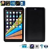 Tablet 3G Smartphone Dual Sim Android 6.0 Entrada para Sim Doble Cámara Bluetooth Wifi GPS 9.0 Pulgadas Quad Core MTK 8321 8 GB Almacenamiento y 1GB RAM