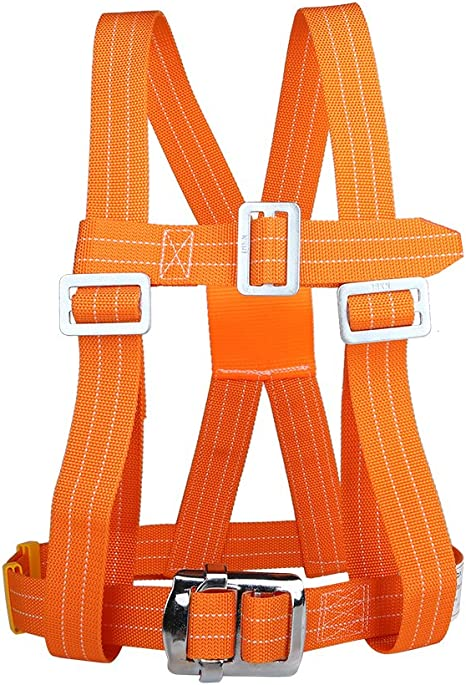Professional Rock Climbing Fall Protection Full Body Harness Kids Safety Belt UK