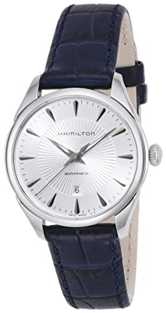 0523b493d Hamilton Women's Analogue Automatic Watch with Leather Strap H42215651