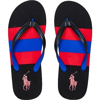 Ralph Lauren Polo whitle Bury/Black de Chanclas Flip Flop, Color ...