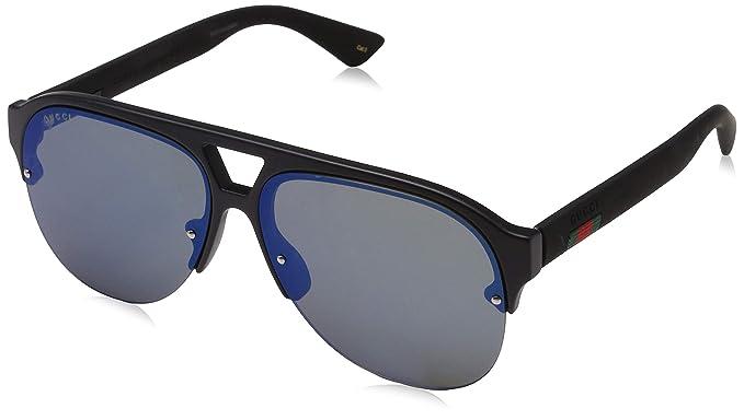Gucci GG0170S 002 Gafas de Sol, Negro (2/Bluee), 59 para ...