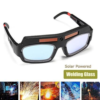 Espeedy Gafas de Protecciones para Ojos,Gafas de seguridad accionadas solares que oscurecen los vidrios