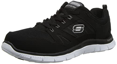 194d61b68609 Skechers Flex Appeal Spring Fever Trainers Womens  Amazon.co.uk ...