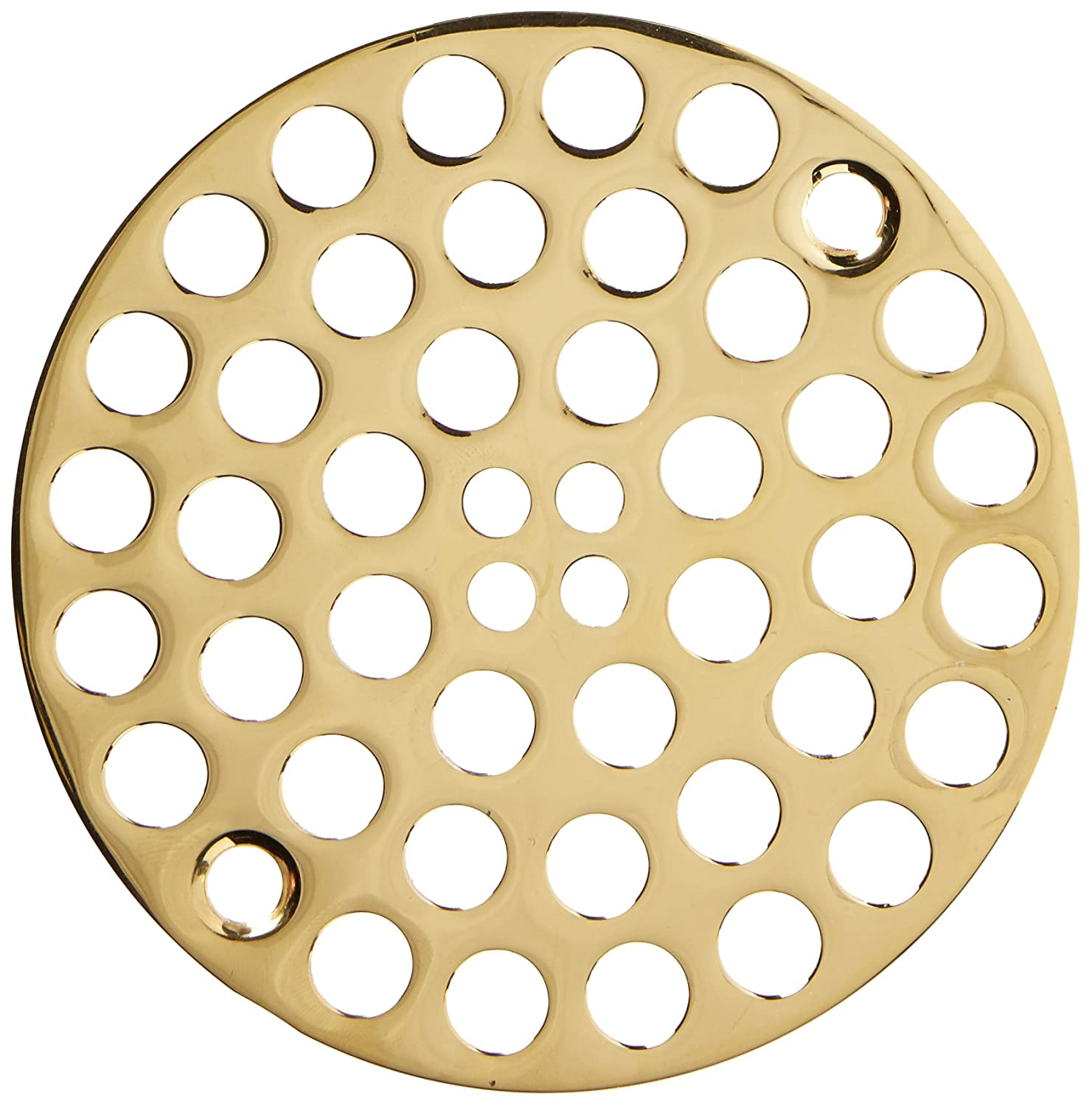 Brasstech 238/26 4-Inch Solid Brass Shower Strainer, Polished Chrome - Shower Drain Cover - Amazon.com