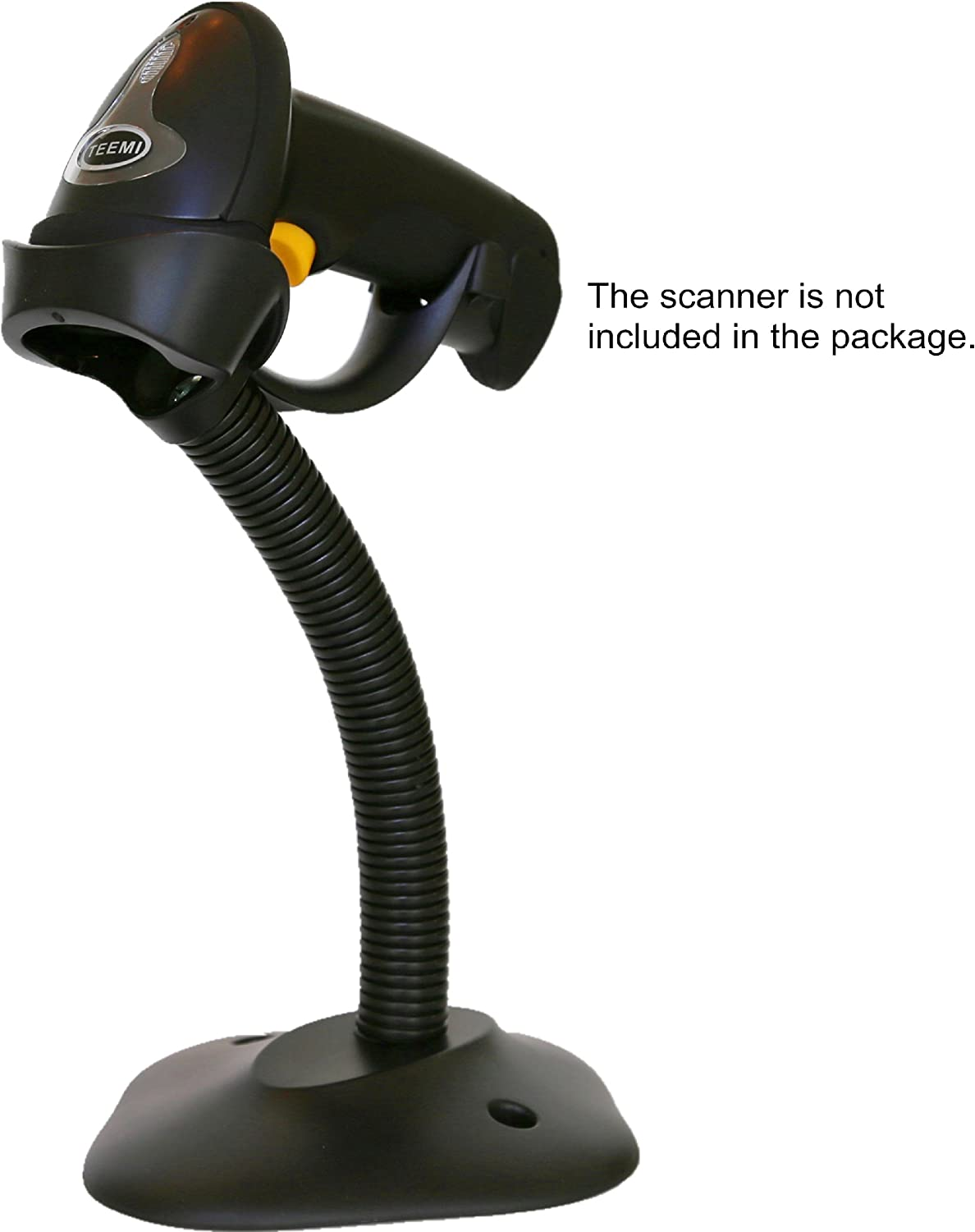 Barcode Scanning Bar-code Reader Cradle Holder for Symbol Scanner LS2208 and TEEMI TMCT-07 and TMCT-10 barcode scanner TEEMI Barcode Scanner Hands Free Adjustable Stand