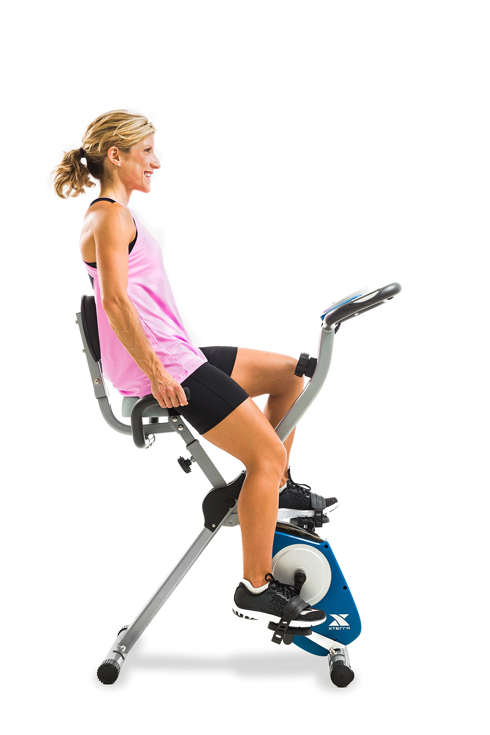 XTERRA Fitness FB350 Folding Exercise Bike, Silver by XTERRA Fitness (Image #8)