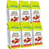 Seitenbacher Muesli #2 Berries Temptation, 16 Ounce, Pack of 6
