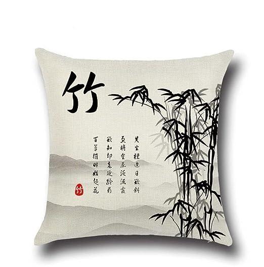 Daeou Cojín del sofá cojín lumbar cojín almohada decoración ...