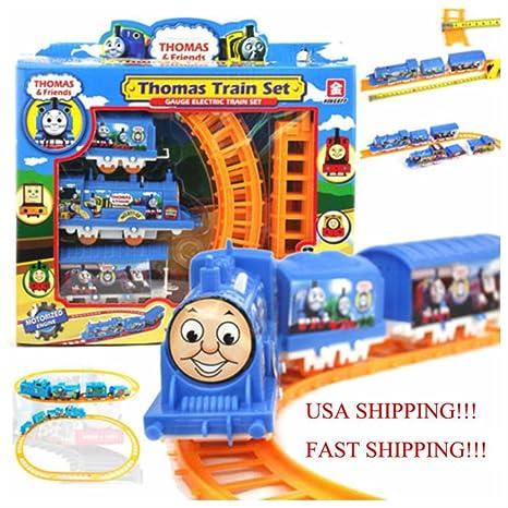 Amazon Com Thomas Electric Train Set Kids Children S Toy Christmas