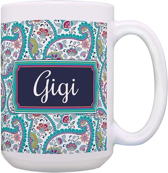 - Gifts for Gigi by Merry Pets Apparel White, 11 Oz Best Gigi Ever Mug