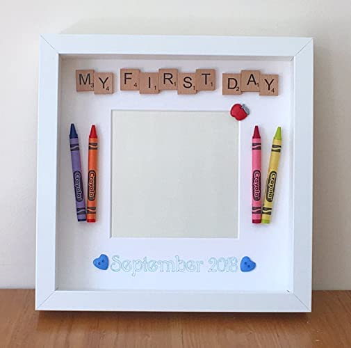Personalised First Day at School Photo Frame 1st Day at Nursery ...