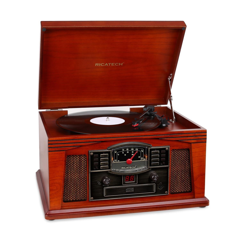 Ricatech RCM200 Tocadiscos estéreo CD Cassette FM