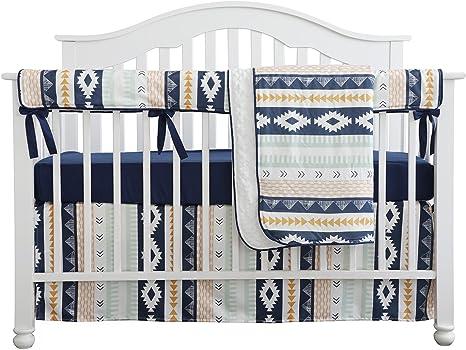 9-pièces Minky Tissu Bébé Literie pour lit bébé