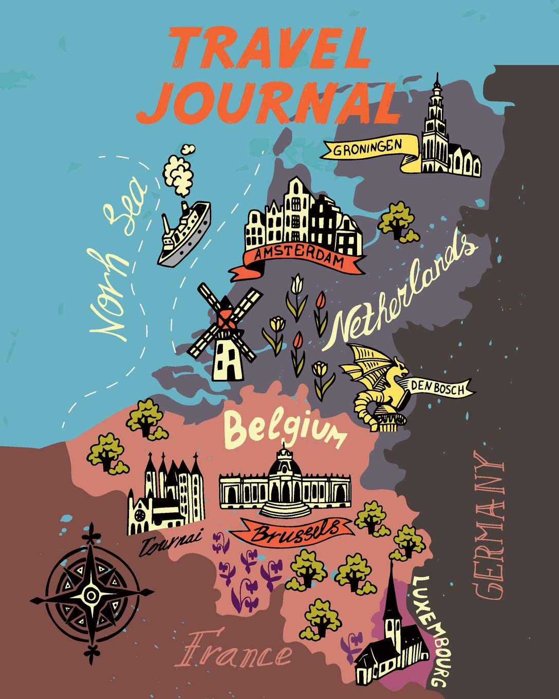 simple europe map for children Travel Journal: Kid's Travel Journal. Map Of Belgium. Simple, Fun