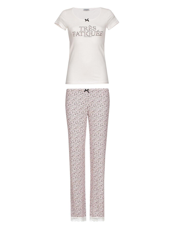 Vive Maria Women's Pyjama Set Beige Beige
