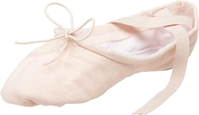 Capezio Cobra Canvas Split Sole Ballet Shoe Light Pink Style 2030C Children/'s