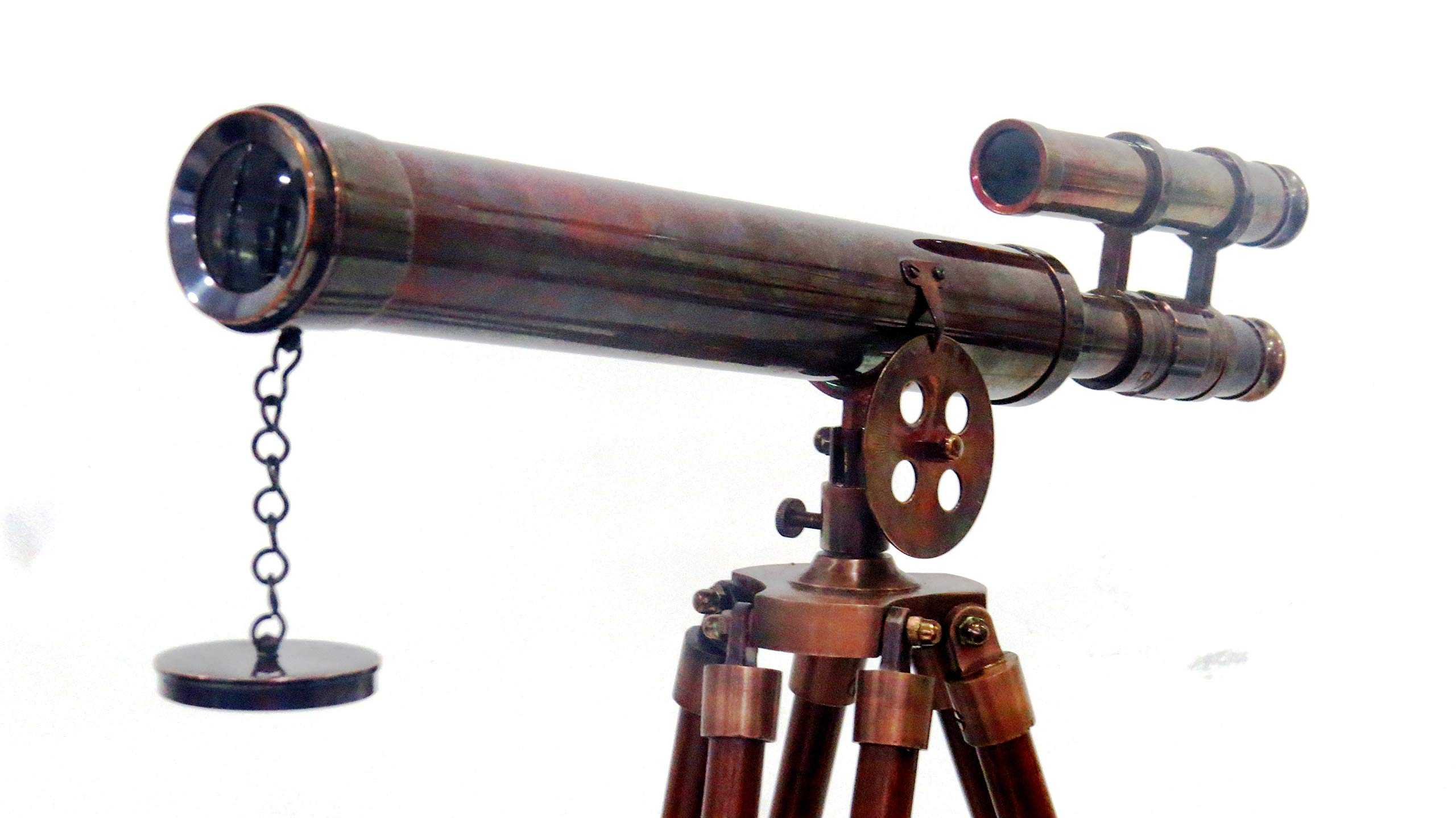 Nautical Antique Copper Griffith Astro Telescope 45''-Vintage Telescope by NauticalMart