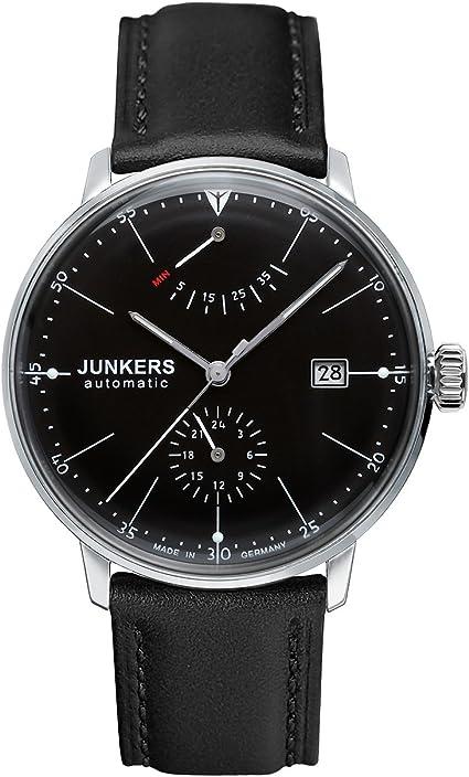 Junkers 32001100 - Reloj de Pulsera para Hombre (Redondo, analógico, automático, Piel)