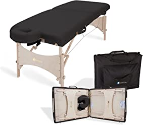 """EARTHLITE Portable Massage Table Package Harmony DX – Eco-Friendly Design, Superior Comfort, Deluxe Adjustable Face Cradle, Carry Case (30"""" x 73"""")"""