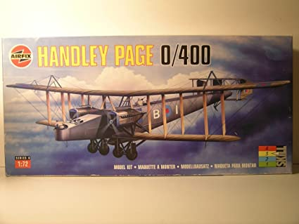 Amazon.com: Aifix Models----1/72 Scale British WW I Handley ...