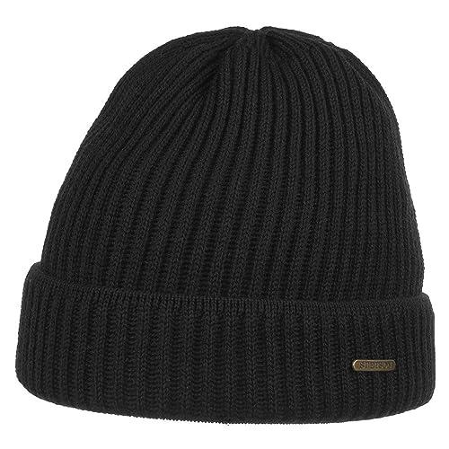 Parkman Berretto Invernale Stetson beanie a coste beanie con risvolto cappello invernale
